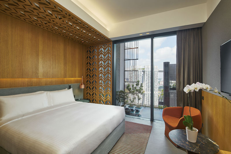 Oasia Hotel Downtown Singapore room