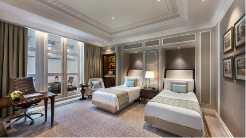 Fullerton Hotel Singapore Room